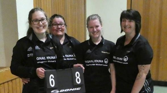 Dramatischer Sieg der Kappler Damenmannschaft in der Badenliga