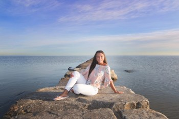 vermilion senior photography