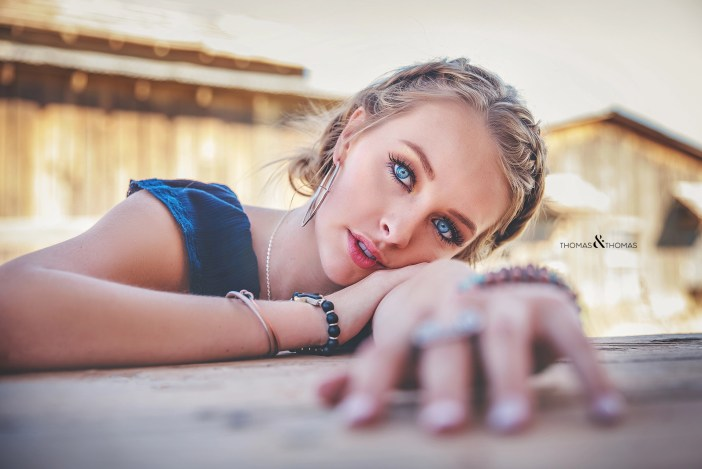 model at Bonanza Creek Ranch