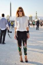 Sarah Rutson Paris Fashion Week 2012
