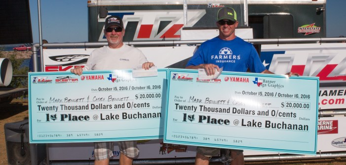 MARK & CASEY BENNETT WIN THE 2016 CHAMPIONSHIP AND TAKE HOME $20,000