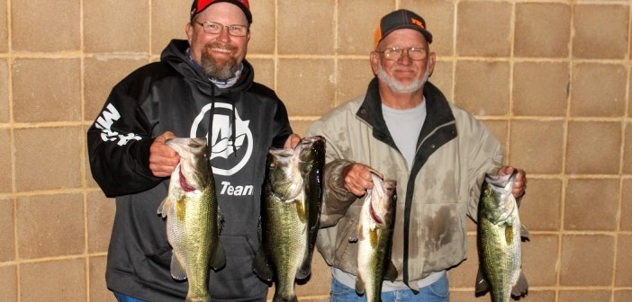 WARREN & MATER KICK OFF TRAVIS TUESDAY WITH 16.30LBS