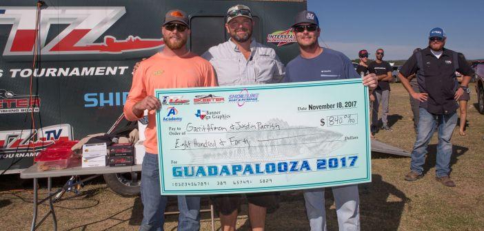 Afman and Parrish win $840 at  Guadapalooza 2017