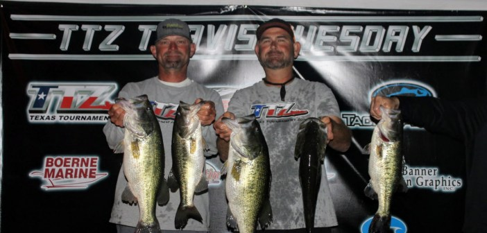Groce and Whited win $1095 on Travis Tuesday w/24.98 lbs