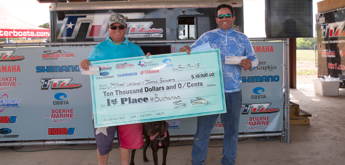 MICHAEL WALDROP & JARROD SANDERS TOP 161 TEAMS ON BUCHANAN AND TAKE HOME $10,000