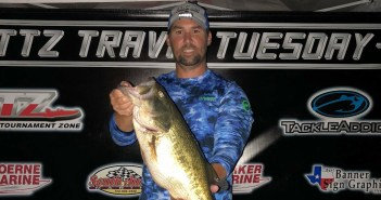 Bueche wins $560 on Travis Tuesday with 15.62 lbs