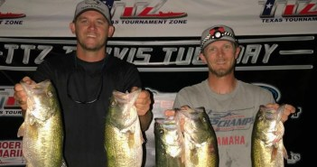 Mueller and Oates win TTZ Travis Tuesday with 14.81 lbs
