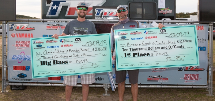 CHARLES WHITED & BRENDAN KENNELL TOP 191 TEAMS ON TRAVIS AND TAKE HOME OVER $12,000