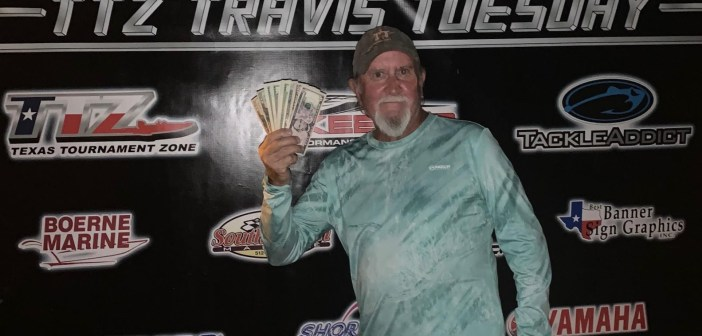 Mauldin and Gordon win Travis Tuesday with 9.81 lbs