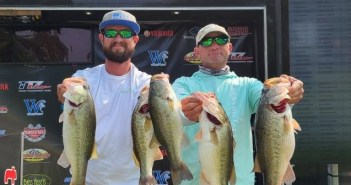 CHARLES WHITED & BRENDAN KENNELL GET THE WIN ON CEDAR CREEK WITH 18.78 LBS