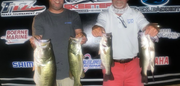 Slayden and Houston win $905 on Travis Tuesday with 17.92 lbs