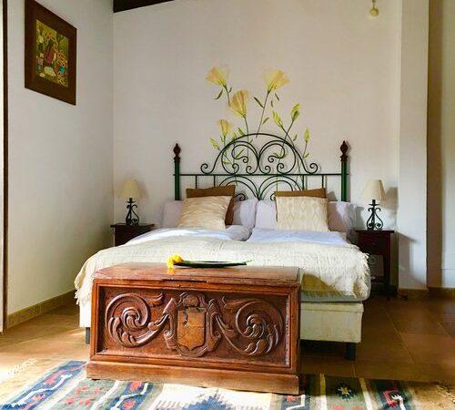 habitacion+vistas+al+patio+trasero+pozo+bed+Ausblick+Schacht