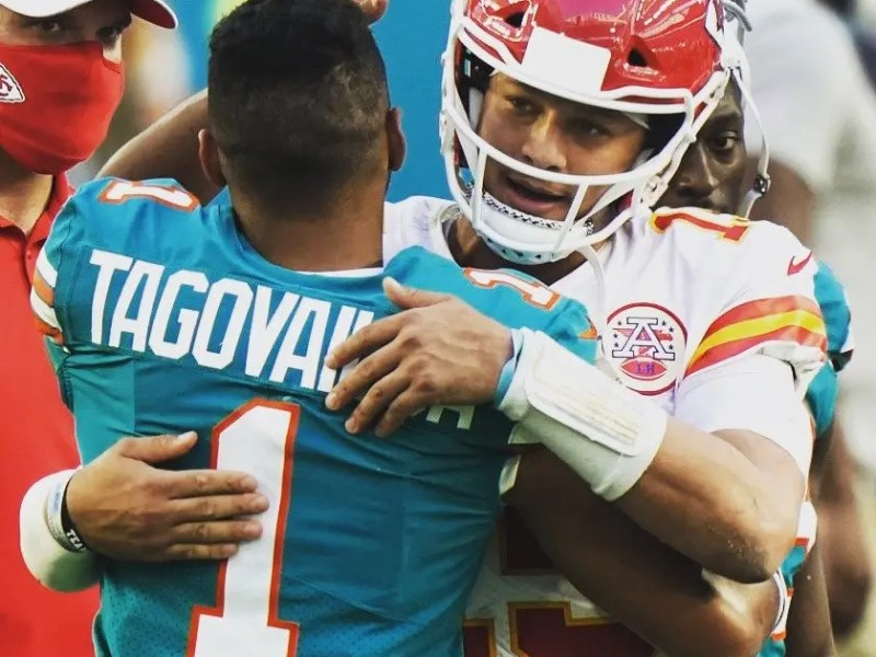 Tua Tested by Defending Champs; Dolphins Fall to Chiefs
