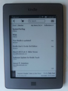 Updated Kindle UI