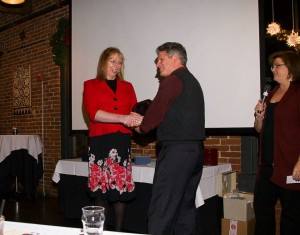 Daniel Payne receives a PMPA Award