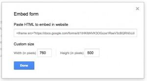 Google file embed