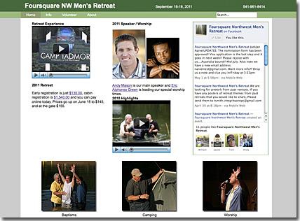 Foursquare NW Men's Retreat