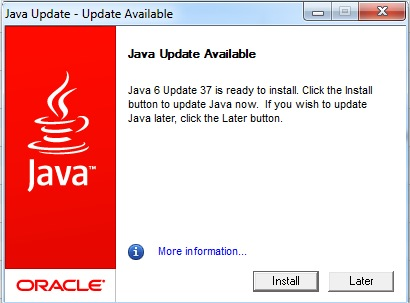 Why Allow Java Updates?