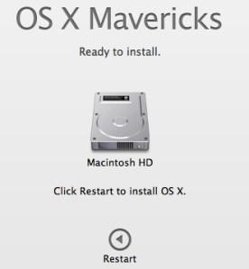 Latest Mac OS X – Mavericks