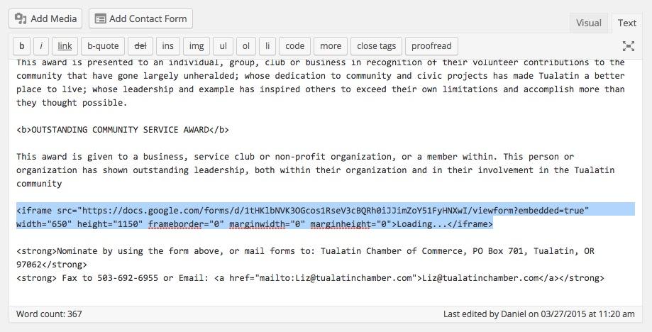 WordPress Archives - Tualatin Web, LLCTualatin Web, LLC