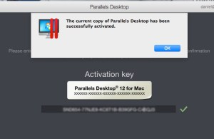 Activate Parallels 12