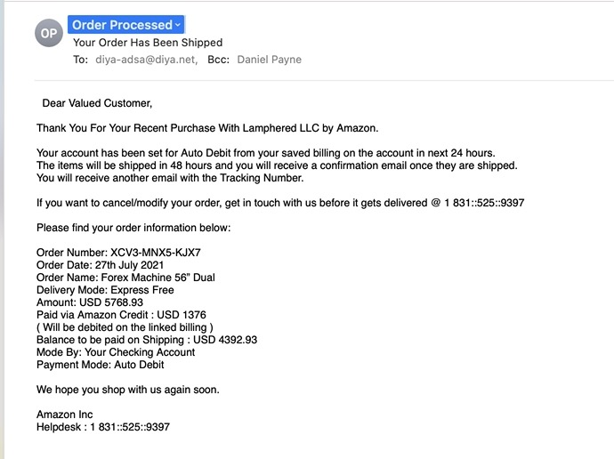 Read more about the article Beware of this Amazon phishing scam