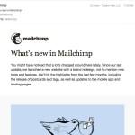 Mailchimp email