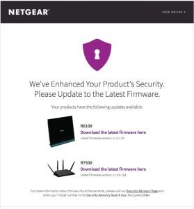 Netgear Email