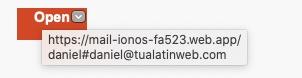 Phishing address