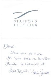 Stafford Hills Club