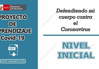 Proyecto de Aprendizaje – Sobre el Coronavirus – Nivel Inicial