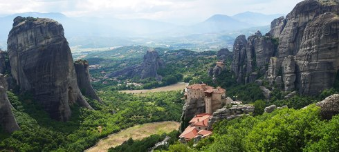 [自助旅行] 希臘天空之城梅特歐拉Meteora,世界遺產奇幻之境