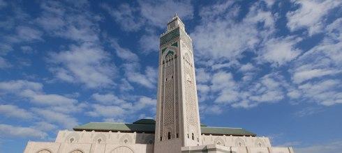 [摩洛哥自助旅行] 卡薩布蘭卡,海上清真寺,哈桑二世清真寺