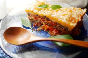 [食譜] 義大利焗烤千層茄子做法,千層茄子塔做法
