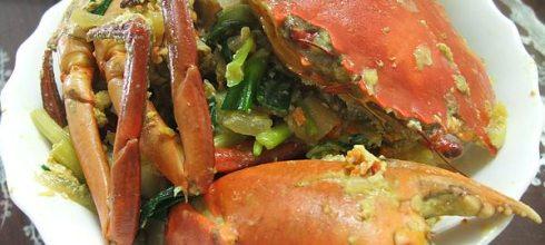 [食譜] 南洋風味咖哩炒螃蟹做法