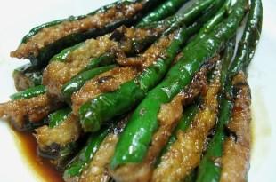 [食譜] 青椒鑲肉做法(青龍椒鑲肉/玉板金鑲)