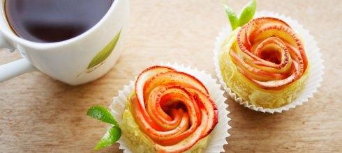 [食譜] 玫瑰蘋果派做法(簡易情人節手工甜點)