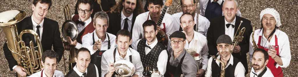 les musiciens de l'œuf big band