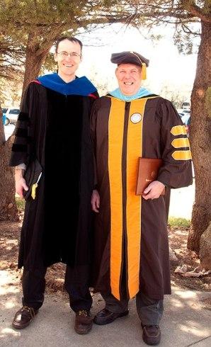 Dr. Craig Shepherd and Stan Skrabut