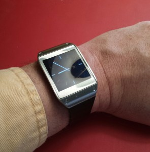 New Samsung Galaxy Gear Watch