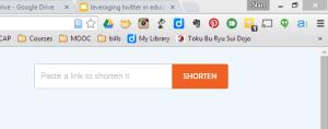 Bit.ly URL field