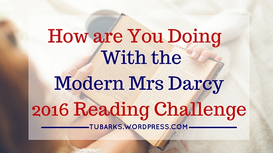 How are You Doing With the Modern Mrs Darcy 2016 Reading Challenge-