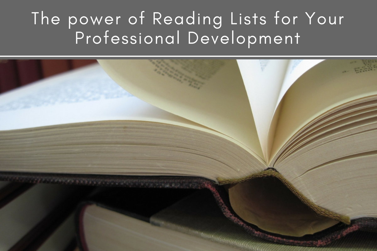 The power of reading lists for your professional development