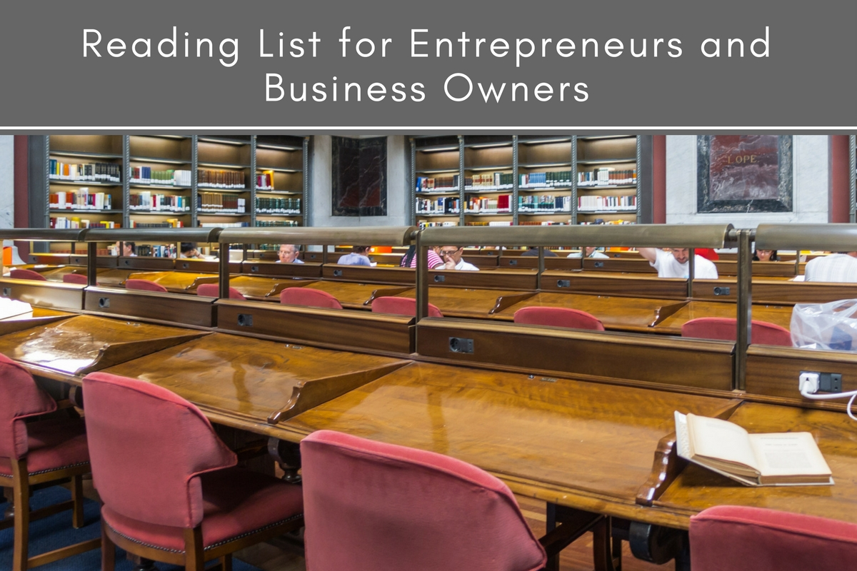 Reading List for Entrepreneurs and Business Owners