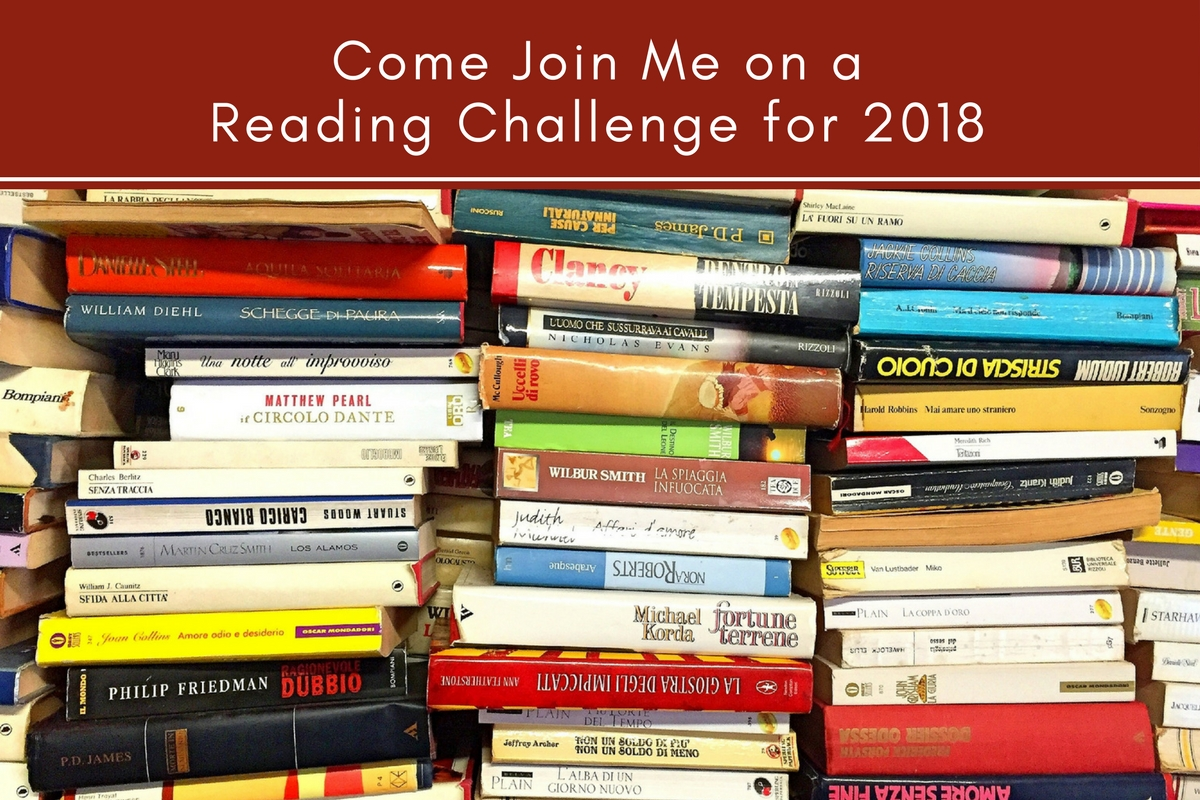 Come Join Me on a Reading Challenge for 2018