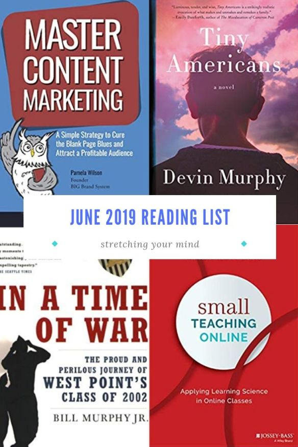 June 2019 Reading List | Tubarks - The Musings of Stan Skrabut