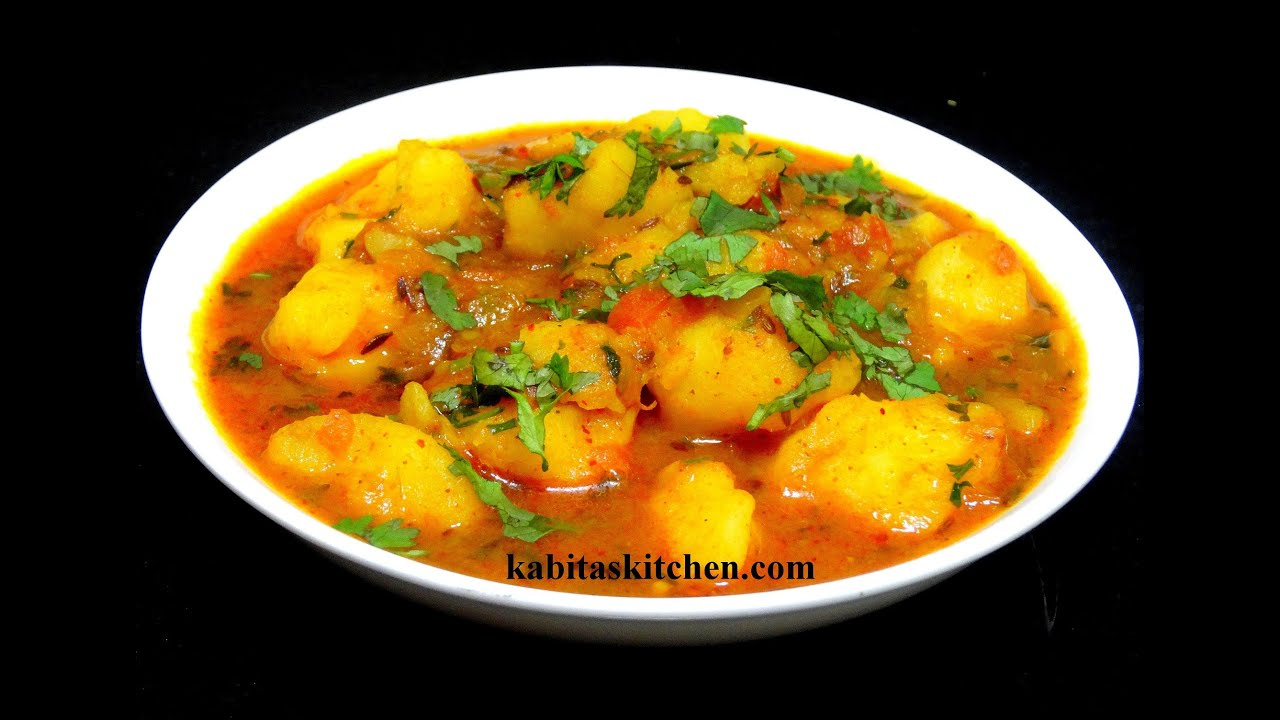 Aloo Curry Recipe-Aloo ki Sabzi