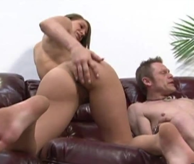 Her Submissive Men Licks Her Armpits And