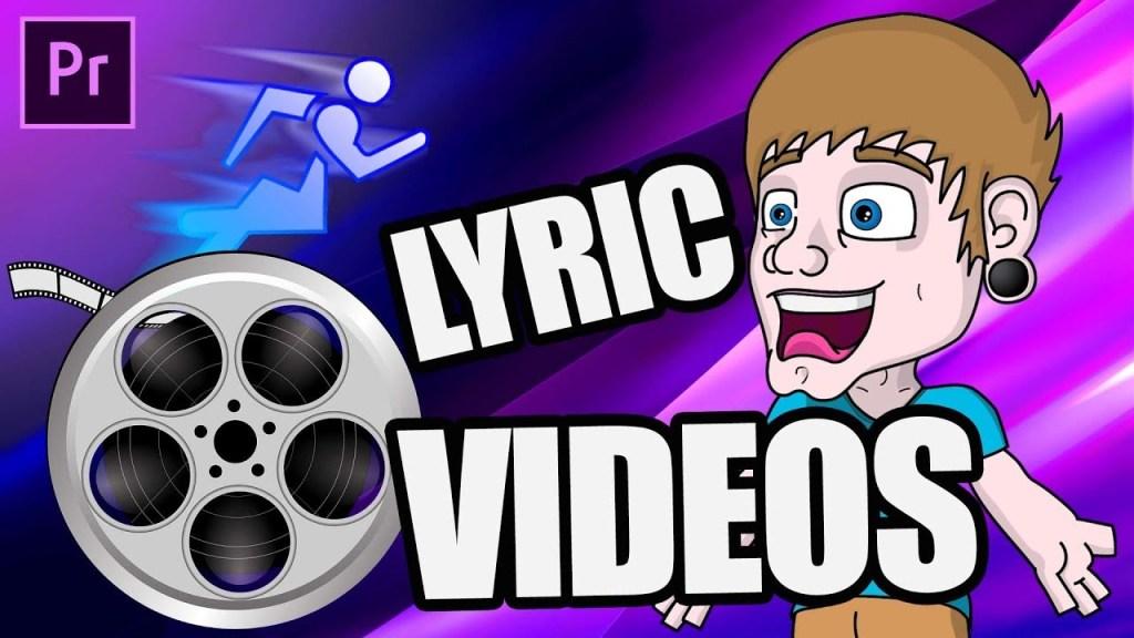 How To EDIT Lyric Videos FAST!