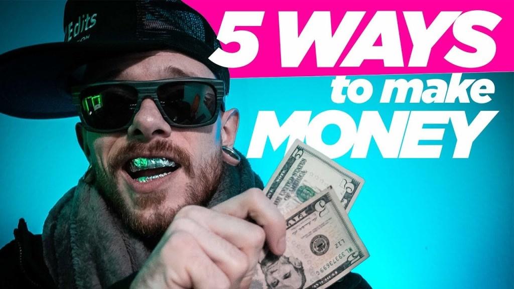 5 Ways to MAKE MONEY on YouTube